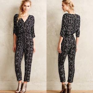Anthropologie | Elevenses Dacey Tribal Jumpsuit